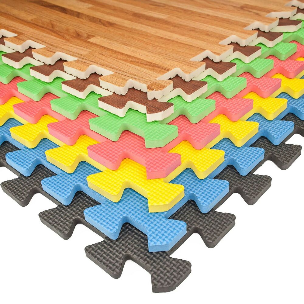interlocking foam mats soft foam floor mats interlocking exercise 28699