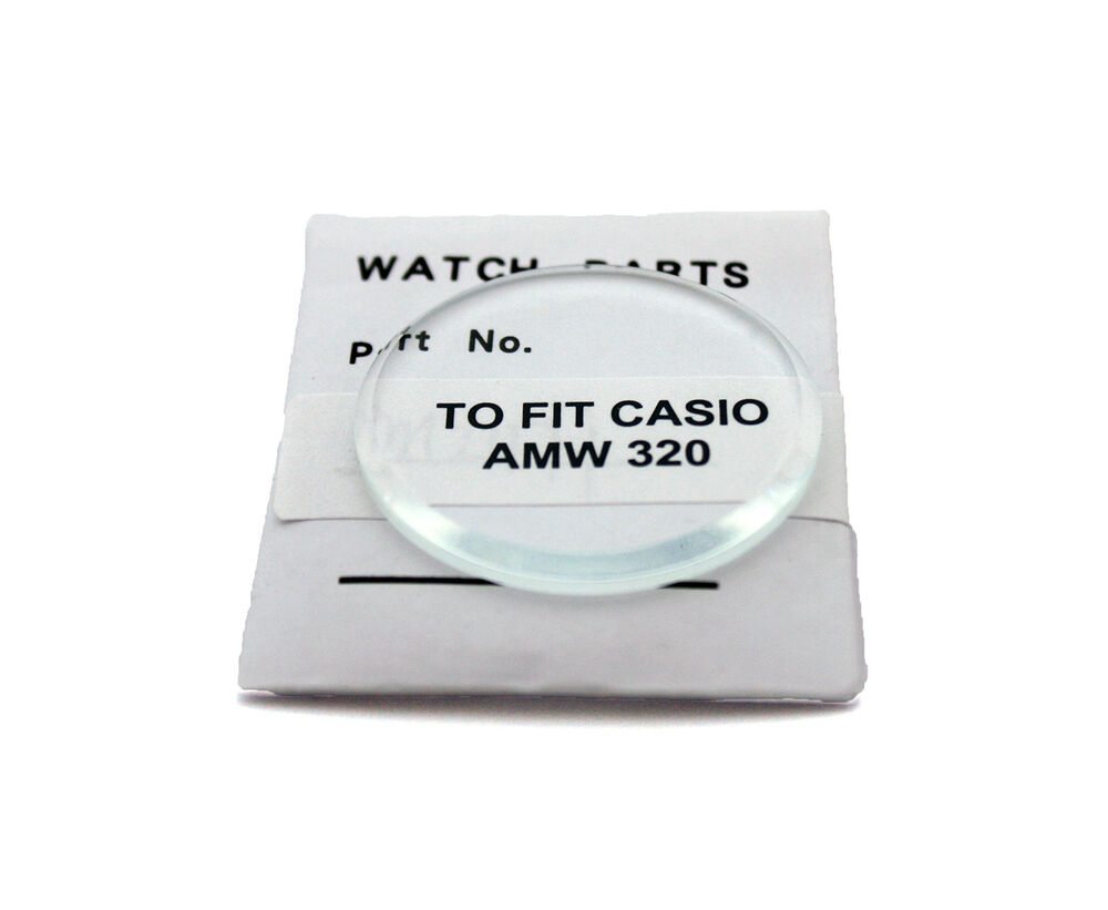 Watch Glass Crystal Replacement To Fit Casio Amw320