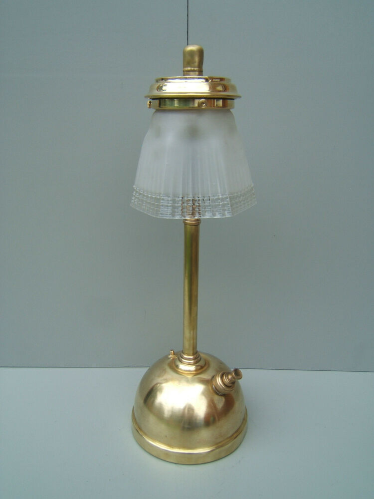 tilley lamp unusual clear shade tilly cleaned polished