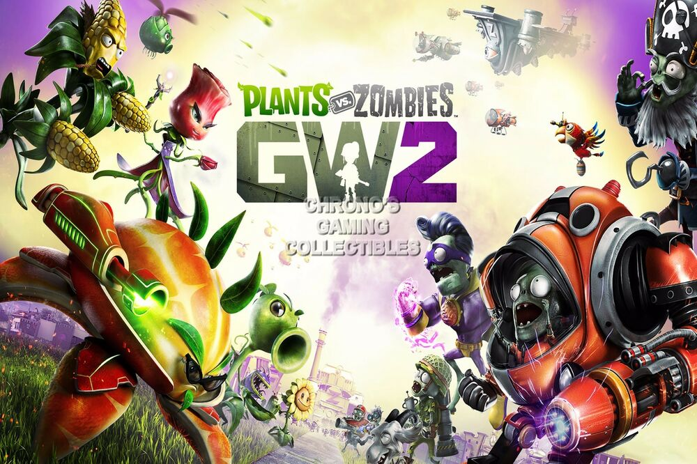Rgc Huge Poster Plants Vs Zombies Garden Warfare 2 Ps4 Xbox One Ext284 Ebay