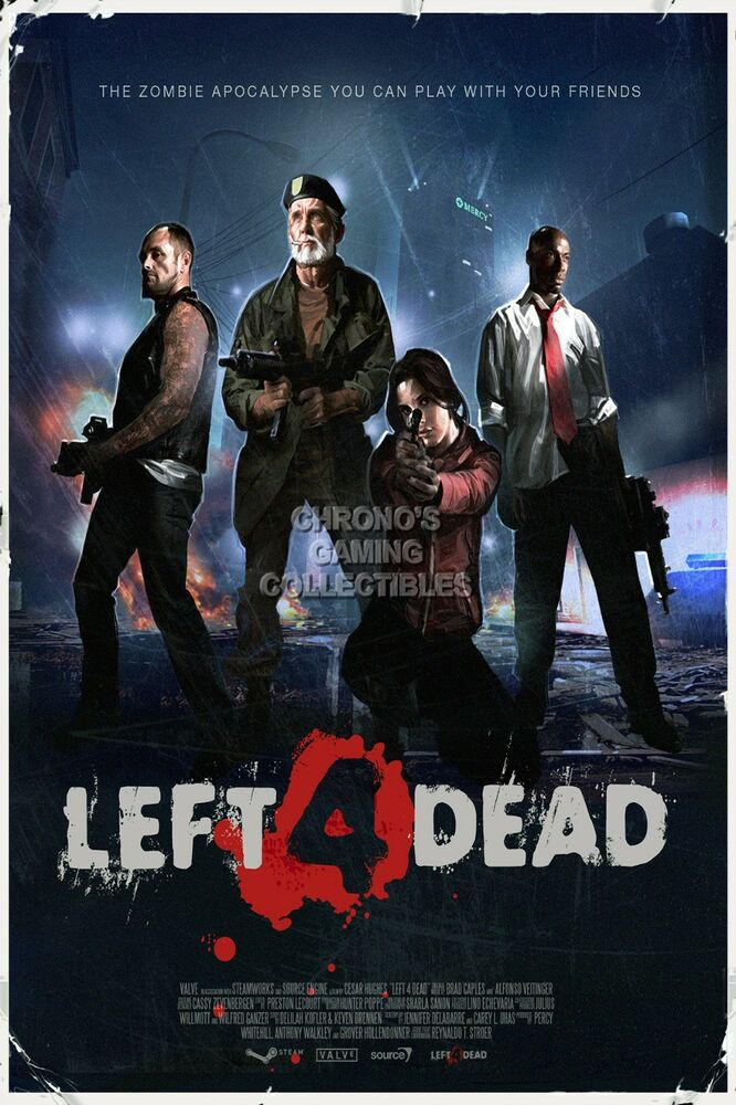 RGC Huge Poster - Left 4 Dead PS3 XBOX 360 2 - L4D002