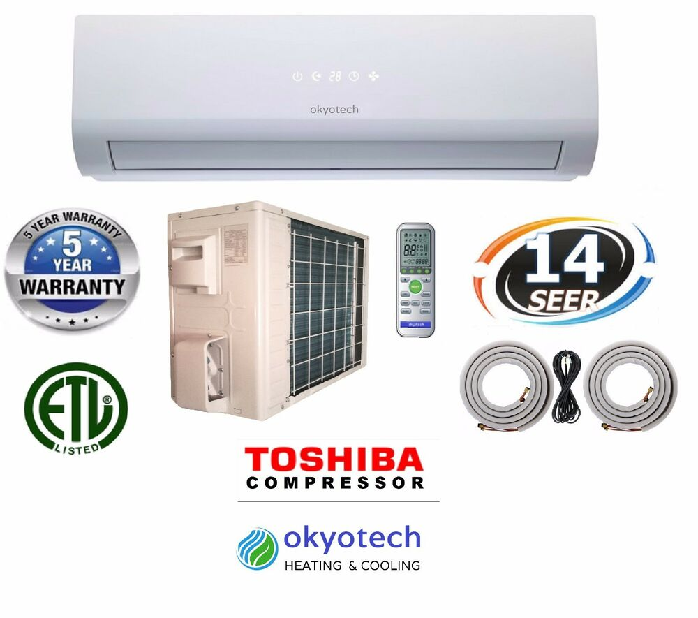 9000 Btu 14 Seer Ductless Mini Split Air Conditioner 17