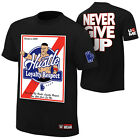 John Cena HLR Hustle Loyalty Respect Never Give Up WWE Authentic T-Shirt NEW