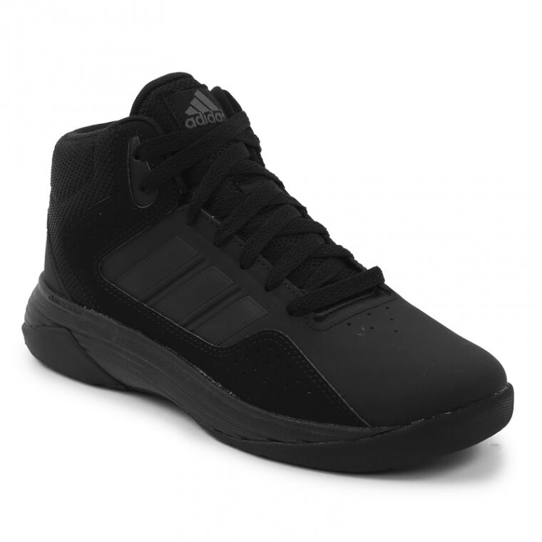 e33f4f38897 Details about Adidas Cloudfoam Ilation Basketball Shoes in All Black in Sz.  6.5 to 15