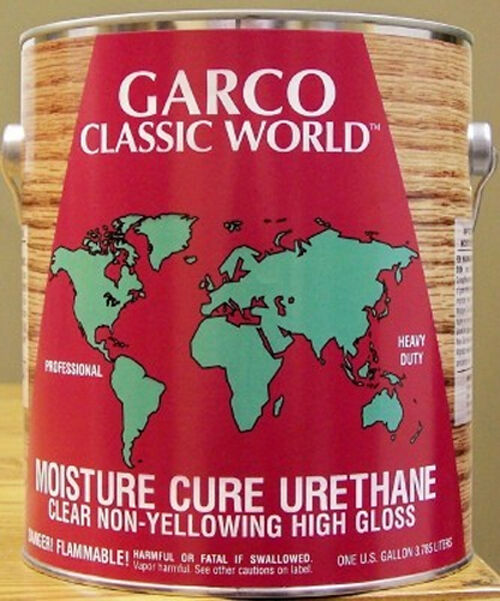 Garco Moisture Cure Non Yellowing Polyurethane Quart Premium Wood Finish Ebay
