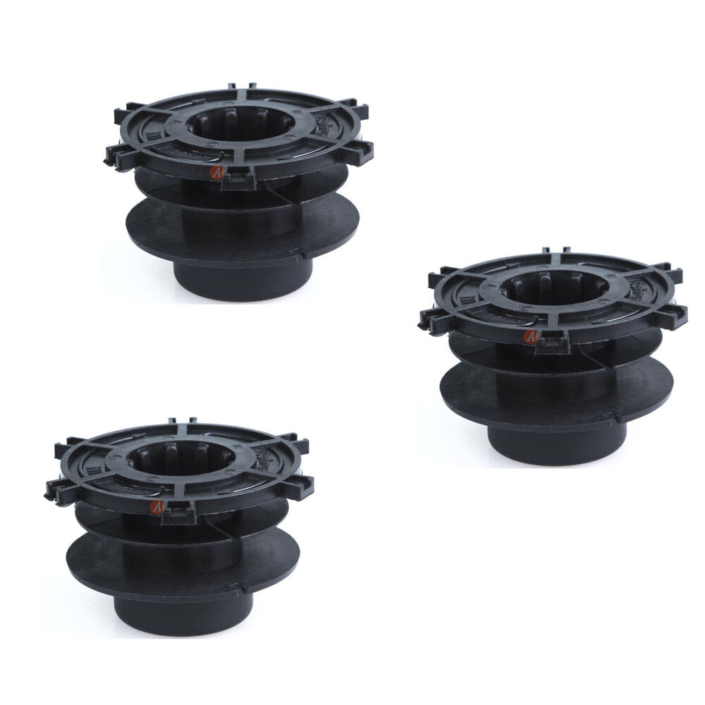 3x string trimmer head spool fit autocut 25 2 replace. Black Bedroom Furniture Sets. Home Design Ideas