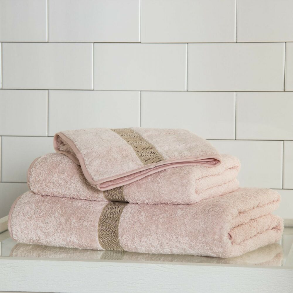 Guest Towels Ebay: NEW FRETTE SEMPIONE PIZZO Lace GUEST HAND TOWEL Pink Beige