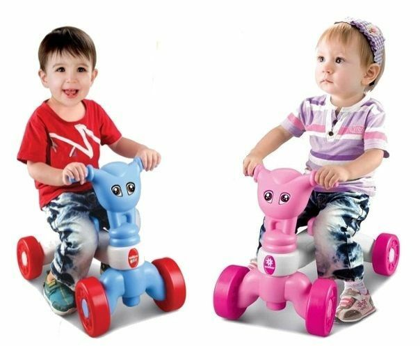 Boys Riding Toys For Toddlers : Childrens toddlers boys girls my first push along ride on