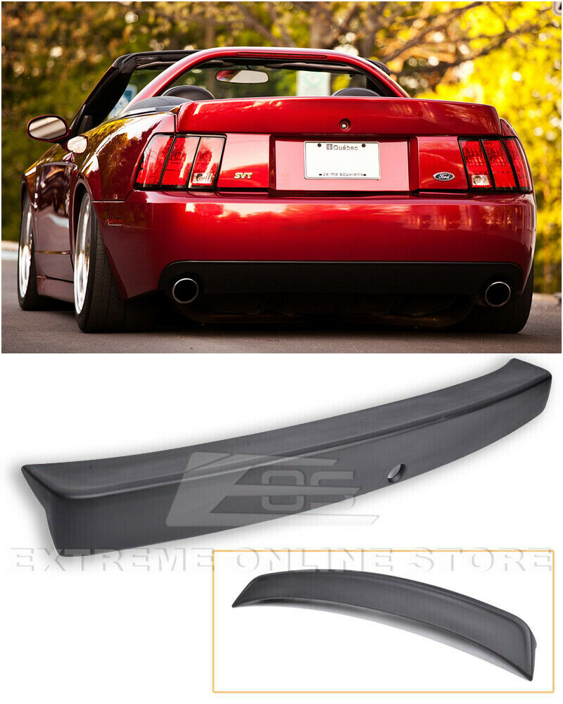 99 Ford Mustang: For 99-04 Ford Mustang CBR Style Rear Wing Trunk Spoiler W
