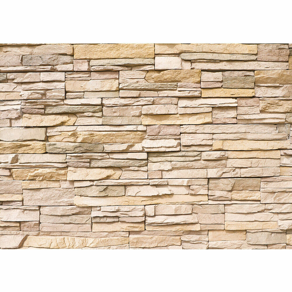 premium fototapete no 1 asian stone wall steinwand steine wand wall 3d st ebay. Black Bedroom Furniture Sets. Home Design Ideas