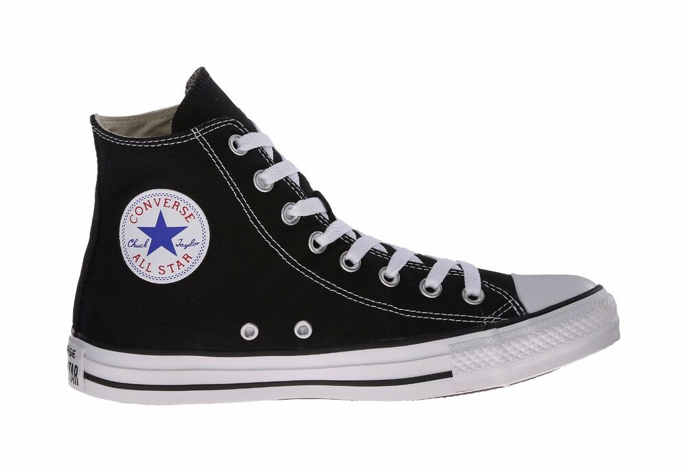 afdc735e1cdf Details about Converse Shoes Chuck Taylor All Star Hi Top Black White Men s  Sneakers M9160