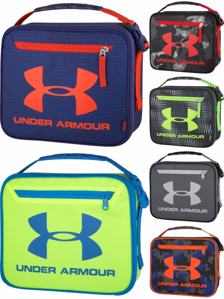 new under armour boys 39 lunch box ebay. Black Bedroom Furniture Sets. Home Design Ideas