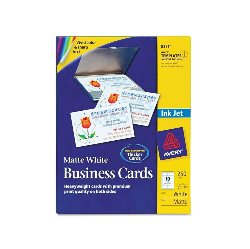 8371 Template. business cards with map 10 per page office ...