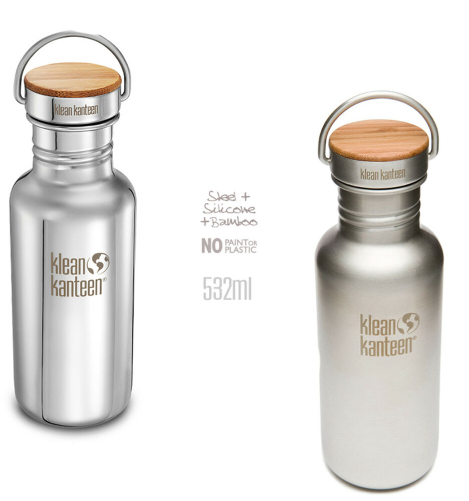 trinkflasche klean kanteen reflect 532ml flasche edelstahl. Black Bedroom Furniture Sets. Home Design Ideas