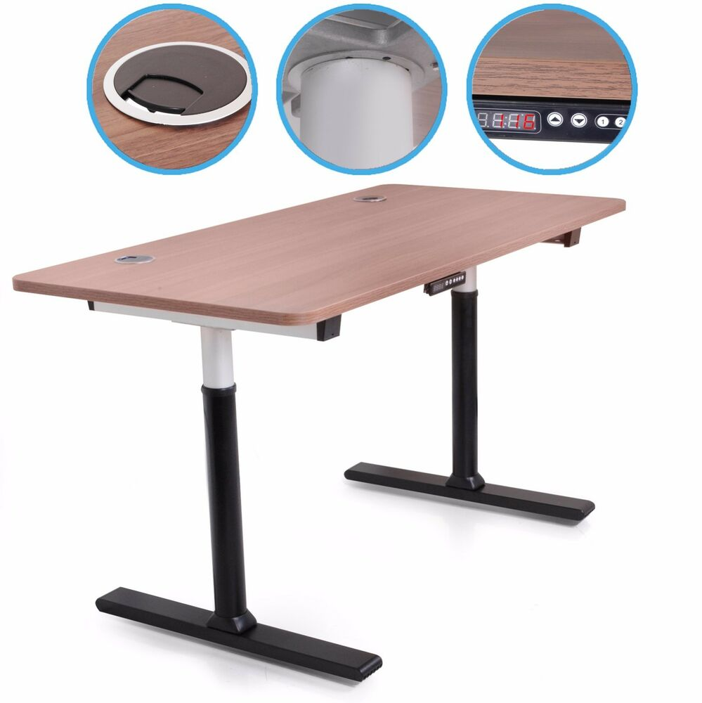new 230v electric large height adjustable home office sit