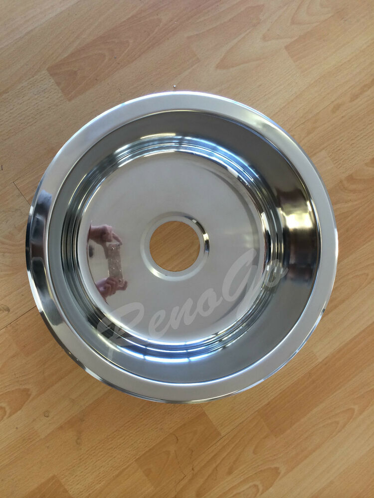 430mm Round Laundry Or Kitchen Stainless Steel Sink