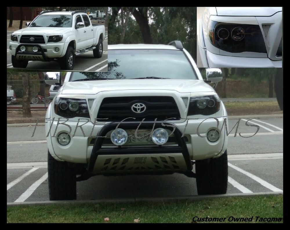 Details About Made To Fit Tacoma Eyelids 05 06 07 Tr Toyota Grille Headlight