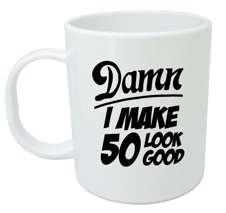 Damn 50 Mug 50th Birthday Gifts Presents Gift Ideas For Men Year Old