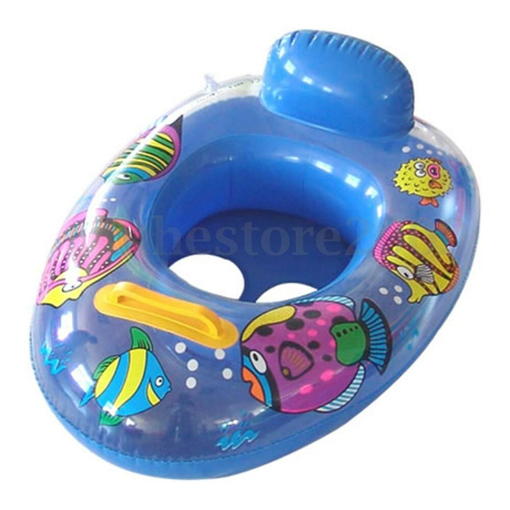 Soft Inflatable Baby Child Safety Seat Float Raft Chair Water Swimming Pool Ebay