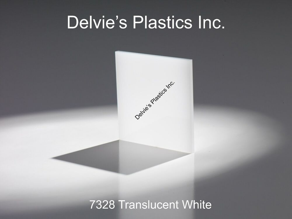 1 4 Quot 7328 Translucent Bright White Cell Cast Acrylic Sheet
