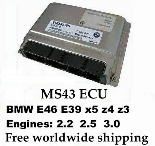 Bmw Z3 Performance Chip: Plug And Play MS43 Chip Tuned ECU 7000rpm For BMW E53 E46