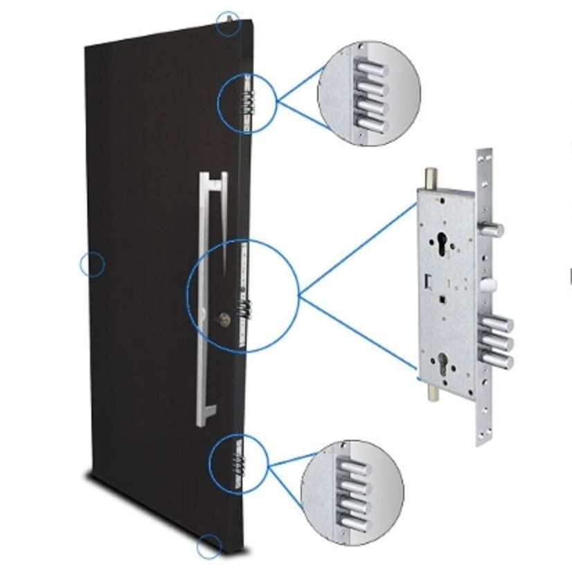 Mul T Lock Mpl415g Lock Set Mortise Deadbolt Door