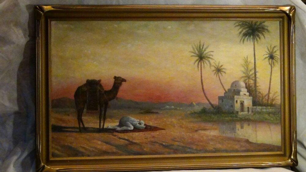 Islamic Oil Paintings For Sale