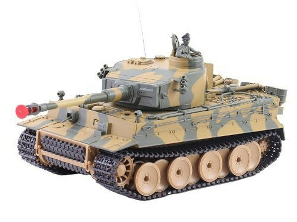 german tiger i battle tank rc sound 1 24 model wwii heavy. Black Bedroom Furniture Sets. Home Design Ideas
