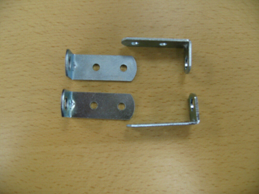 L Brackets Set Of 4 Turn Drop Side Visible Hardware Into