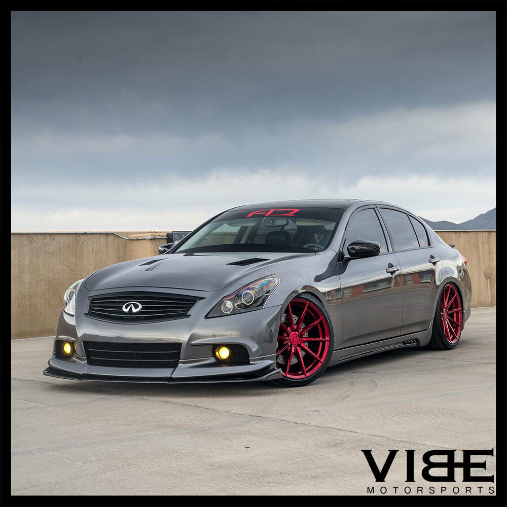 "1999 Infiniti G Interior: 20"" ROHANA RF1 RED FORGED CONCAVE WHEELS RIMS FITS"