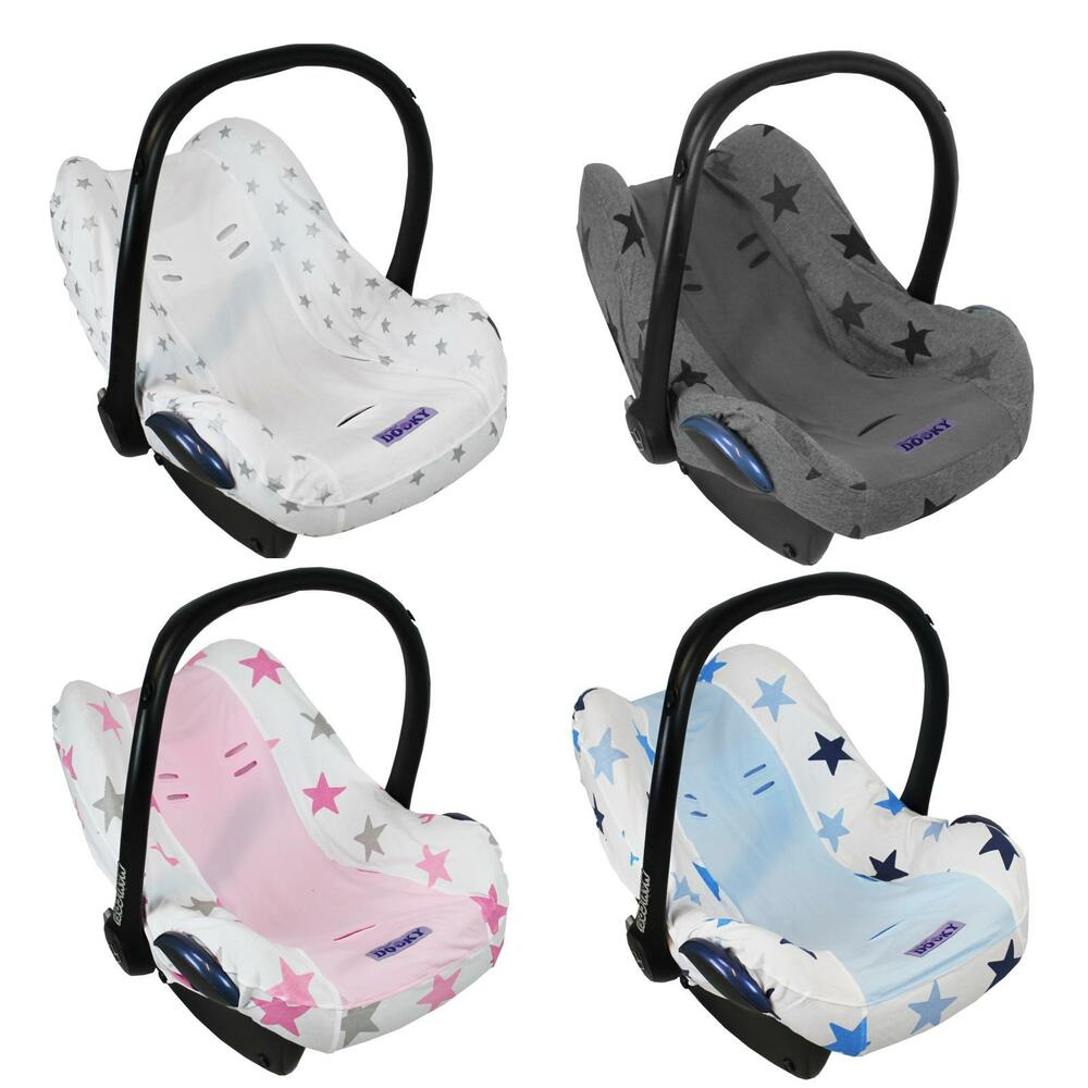 dooky baby car seat cover liner infant carrier universal removable protector ebay. Black Bedroom Furniture Sets. Home Design Ideas