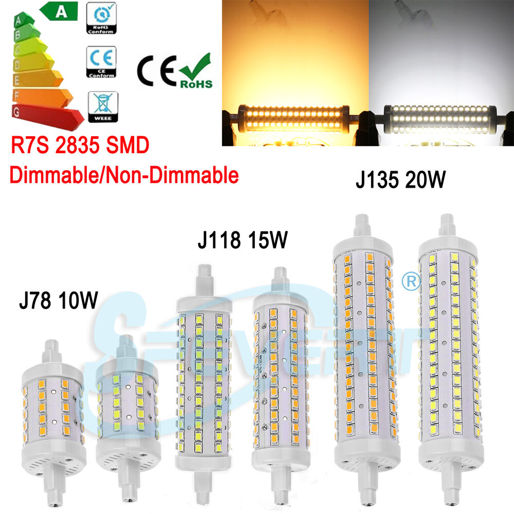 Dimmable r7s 78mm 118mm 135mm 10w 15w 20w led flood light for R7s led 78mm 20w