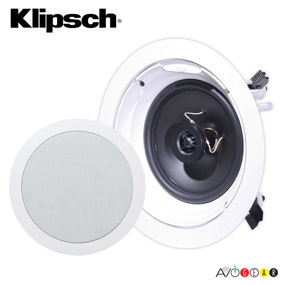 "Klipsch R-1650-C In-Ceiling Speaker 6.5"" 2-Way Speakers ..."