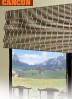 Bamboo Roman Shade Window Blind - 2 sizes available