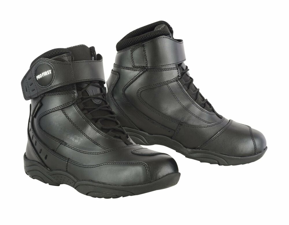 Motorcycle Boots Ankle S M 108