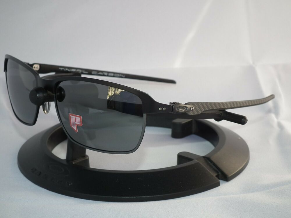 OAKLEY POLARIZED TINFOIL CARBON FIBER SUNGLASSES OO6018-02 ...