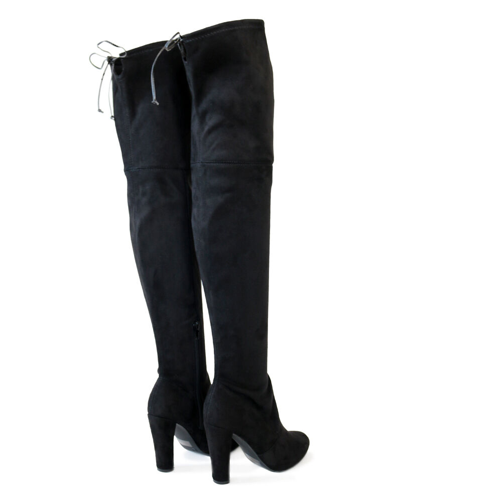Stretch Thigh High Boots | eBay