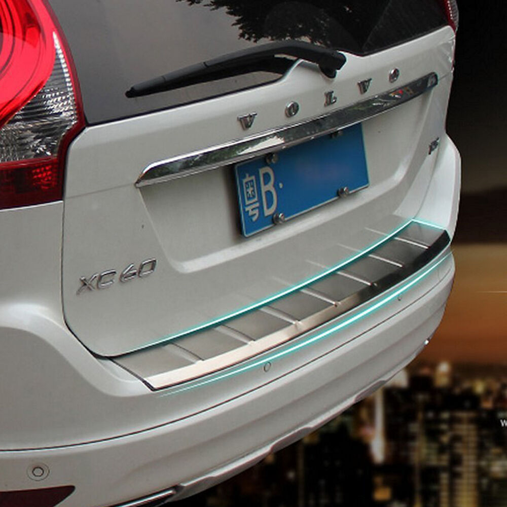 Rear Outer Bumper Skid Protector Guard Sill Plate For