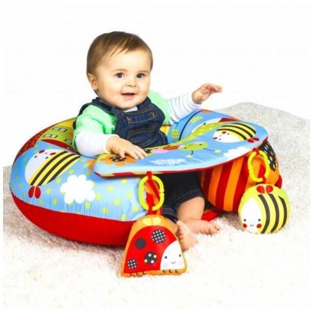 Inflatable Kids Birthday Chair: Red Kite Sit Me Up Garden Gang Inflatable Ring Baby Play
