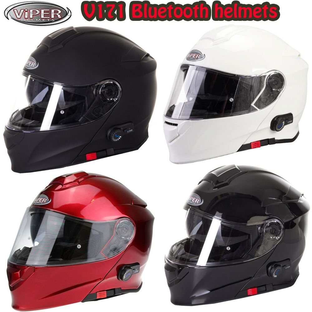 neuf casque moto bluetooth v171 modualable scooter touring visi re route schuber ebay. Black Bedroom Furniture Sets. Home Design Ideas