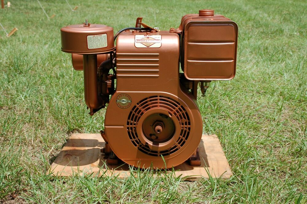 Vintage New Very Rare Find Briggs 8 Hp Eng Built