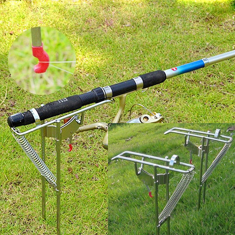 Adjustable Stainless Fishing Rod Holder with Automatic Tip ... - photo#42