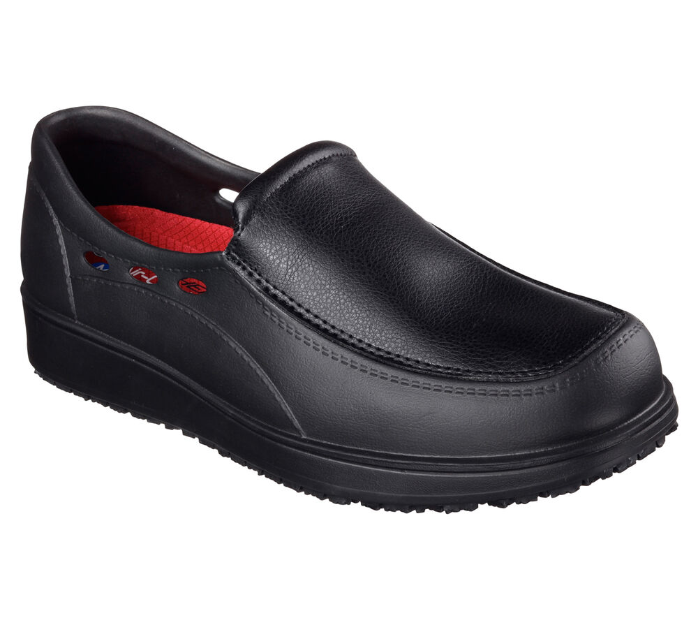 Mens Skechers Work Shoes With Memory Foam