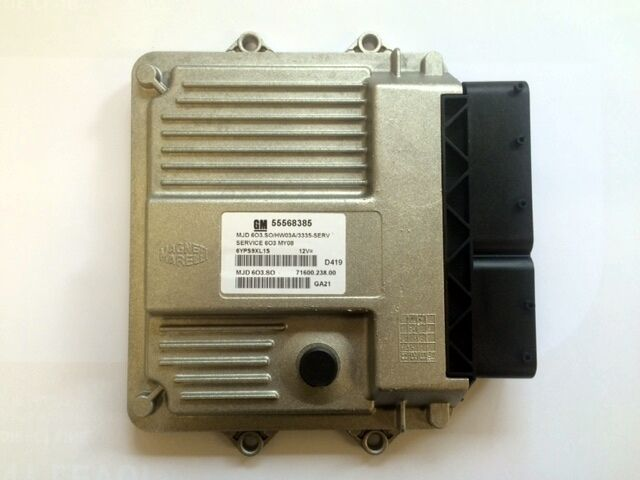 genuine vauxhall corsa d 1 3 diesel ecu gm part new 55568385 ebay. Black Bedroom Furniture Sets. Home Design Ideas