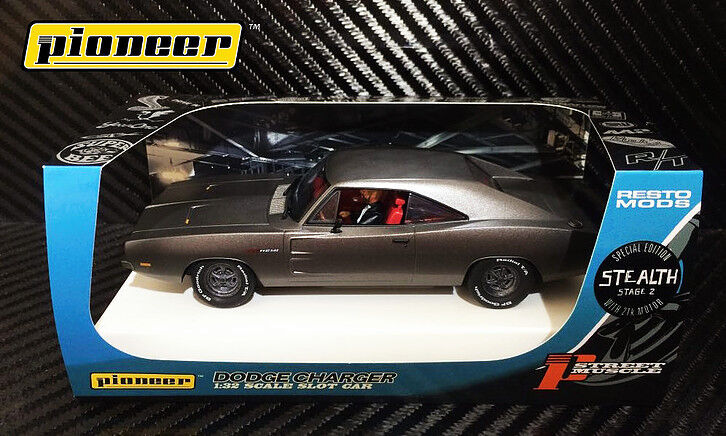 Pioneer Gray Steath 1969 Dodge Charger 426 Hemi Dpr Le 1