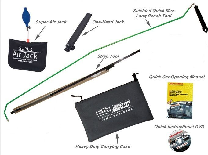 Car Unlock Kit Amazing Easy Car Door Opening Kit Lockout