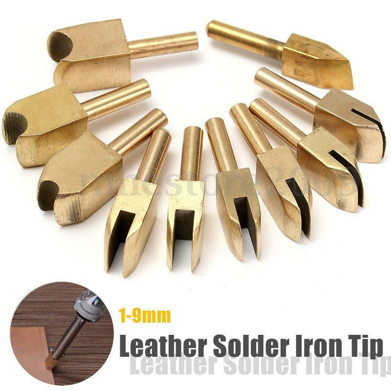 leather solder iron tip brass soldering iron tip to burn the edge decorate diy ebay. Black Bedroom Furniture Sets. Home Design Ideas