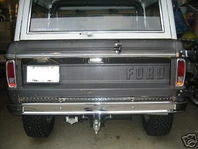 1966 77 early ford bronco roll pan diamond plate ebay. Black Bedroom Furniture Sets. Home Design Ideas