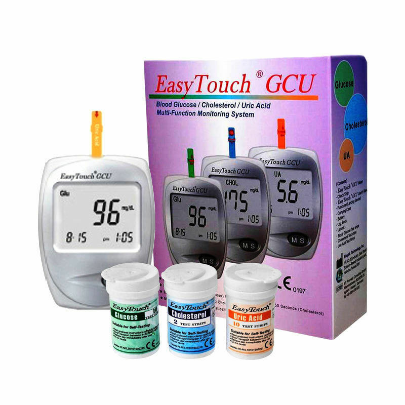 Easytouch 3 In 1 Monitoring System For Glucose