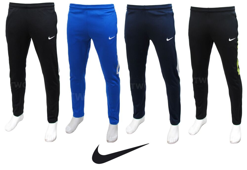 mens nike slim tapered training tracksuit bottoms pants football running jogging ebay. Black Bedroom Furniture Sets. Home Design Ideas